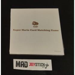 Super Mario Card Matching Game