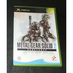 Metal Gear Solid 2: Substance(Completo)PAL XBOX
