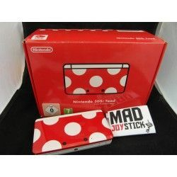 Nintendo 3DS Limited Edition Toad Club Nintendo Completo