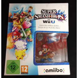 Super Smash Bros GAME DISC + MARIO AMIIBO(Nuevo)PAL EUROPA NINTENDO WII U