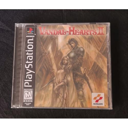 Vandal Hearts II(Completo)PAL PS1 PSX