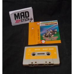 Zaga Mision - Moby Dick - COMMODORE 64 C64 Cinta