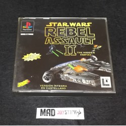 Star Wars: Rebel Assault II - The Hidden Empire (Completo) PAL Europa Sony Playstation PSX PS1